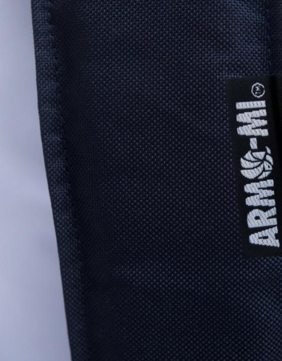 arma-mi brisk white strap label