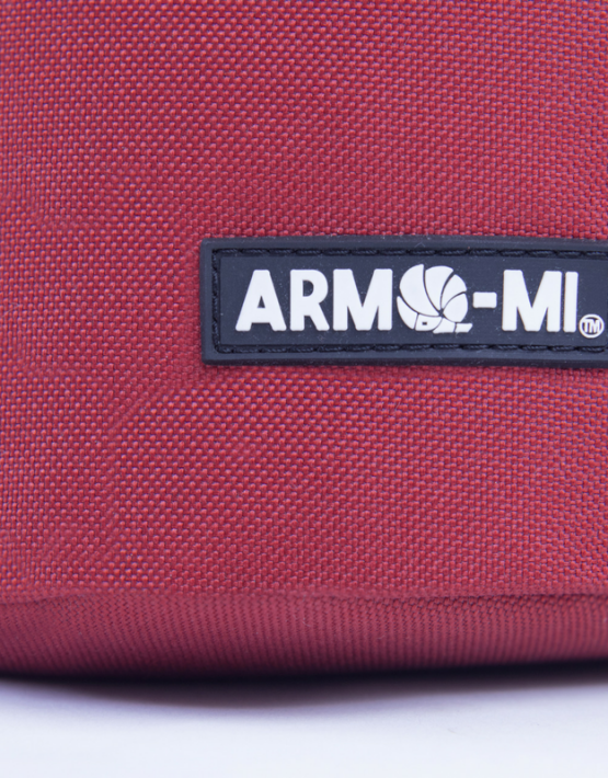 arma-mi rustic red badge