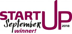 Start-up September 2018 logo winner
