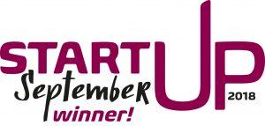 Start-up September 2018 logo winner